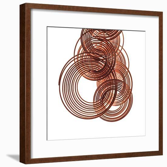 Intertwined Gold IV-Monika Burkhart-Framed Photographic Print