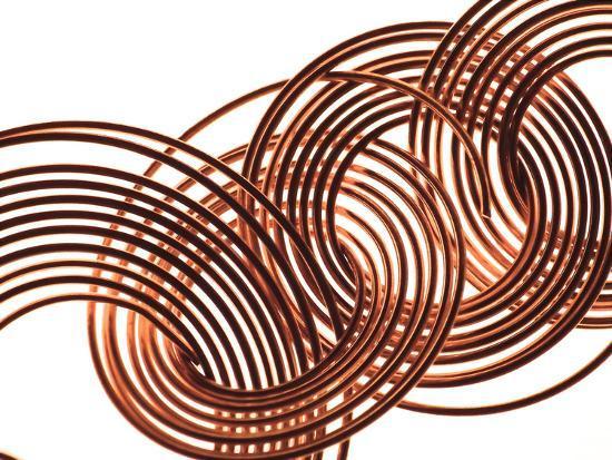 Intertwined Gold VIII-Monika Burkhart-Photographic Print