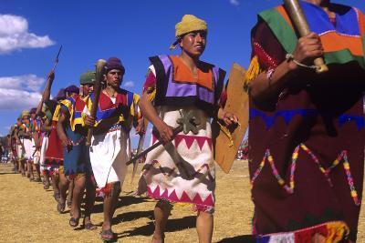 Inti Raymi, Incan Celebration, Cusco, Peru--Photographic Print