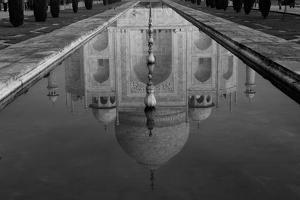 Reflection of Taj Mahal in Pool by Inti St. Clair