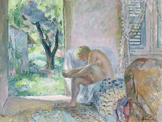 Intimacy, or Waking Up-Henri Lebasque-Giclee Print