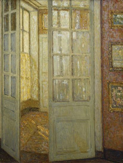 Intimite Rose Et Or, Versailles, 1930-Henri Eugene Augustin Le Sidaner-Giclee Print