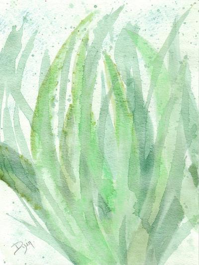 Into Green 1-Beverly Dyer-Art Print