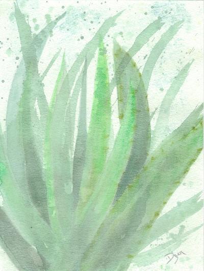 Into Green 2-Beverly Dyer-Art Print
