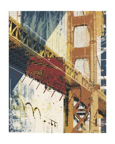 Into Manhattan I-Noah Li-Leger-Art Print