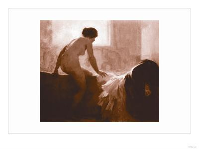 Into the Bath--Art Print
