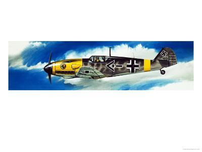 Into the Blue: German Aircraft of World War II-Wilf Hardy-Giclee Print