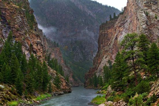 Into the Canyon-Hansrico Photography-Photographic Print