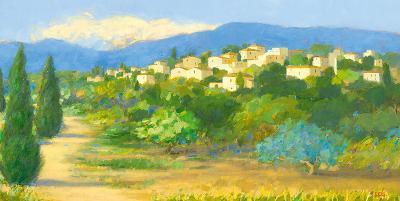 Into the Hills II-Hazel Barker-Art Print