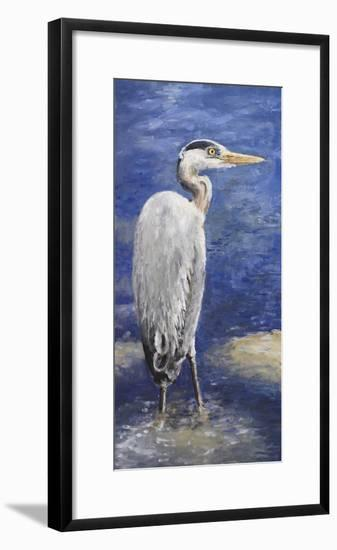 Into the Pond II-Walt Johnson-Framed Premium Giclee Print