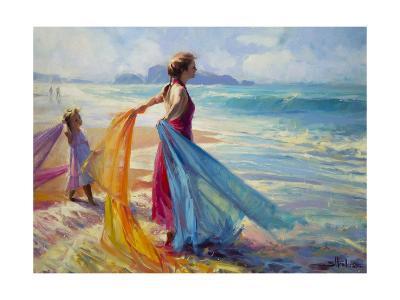 Into the Surf-Steve Henderson-Giclee Print