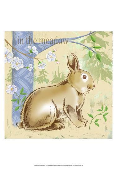 Into the Woods II-Jane Maday-Art Print