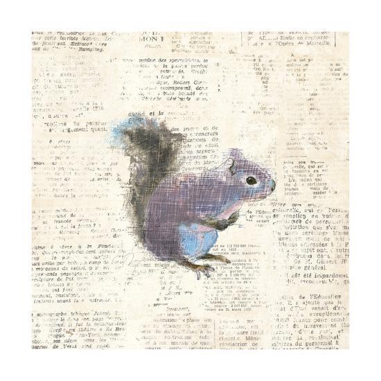 Into the Woods V-Emily Adams-Art Print