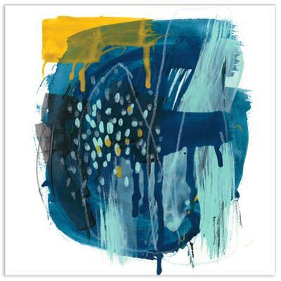 Intuitive Motion II - Free Floating Tempered Glass Wall Art