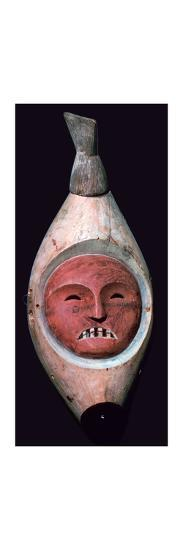 Inuit wooden mask-Unknown-Giclee Print