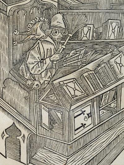 Inutiltas Librorum, from Ship of Fools--Giclee Print