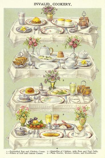 Invalid Cookery--Giclee Print