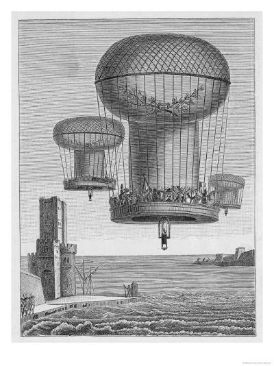 Invasion Plans, The Thiloriere is a Huge Hot-Air Balloon--Giclee Print