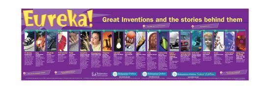 Inventions-Encyclopaedia Britannica-Art Print