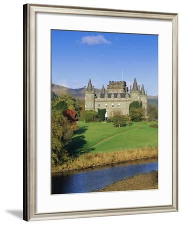 Inveraray Castle, Highlands, Scotland, UK, Europe-Gavin Hellier-Framed Photographic Print