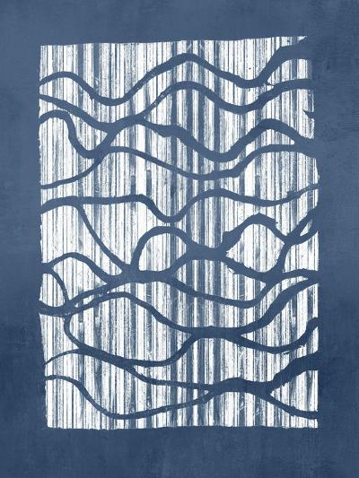 Inverse Indigo-Jennifer Goldberger-Art Print