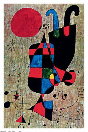 Inverted-Joan Mir?-Art Print