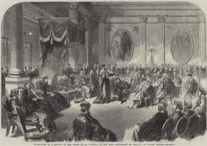 Investiture of a Knight of the Order of St Patrick