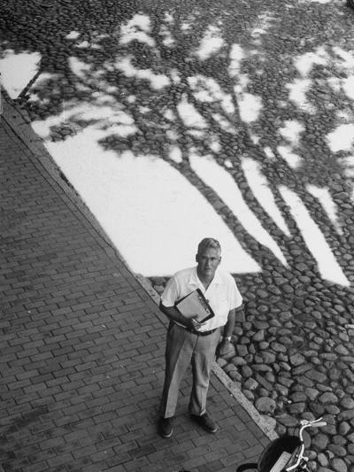 Investor Walter Beinecke Jr--Photographic Print