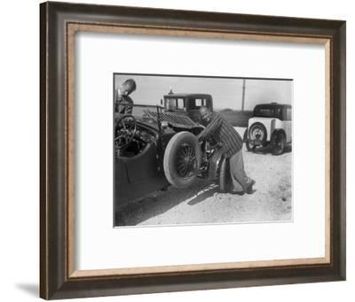 Invicta 4-seat high-chassis tourer of Donald Healey, B&HMC Brighton Motor Rally, 1930-Bill Brunell-Framed Photographic Print