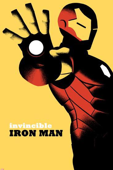Invincible Iron Man No.6 Cover--Art Print