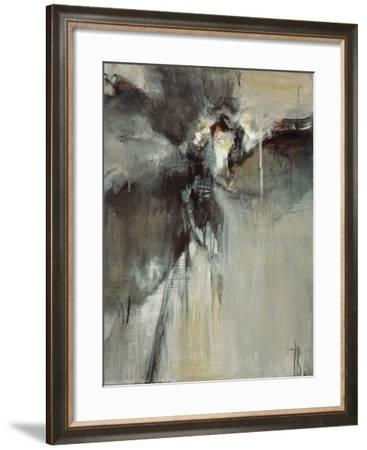 Invisible Flora II-Terri Burris-Framed Art Print