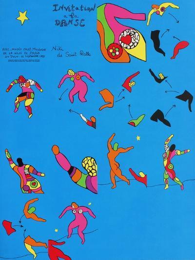Invitation ? La Danse-Niki De Saint Phalle-Premium Edition
