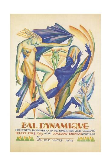 Invitation to Modern Dance Concert, 1929--Giclee Print