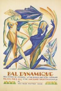 Invitation to Modern Dance Concert, 1929