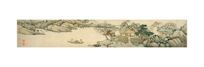 Invitation to Reclusion at Chaisang, 1649-Shen Zhou-Giclee Print