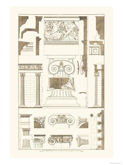 Ionic Capitals-J^ Buhlmann-Art Print