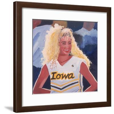 Iowa Cheerleader, 2001-Joe Heaps Nelson-Framed Giclee Print
