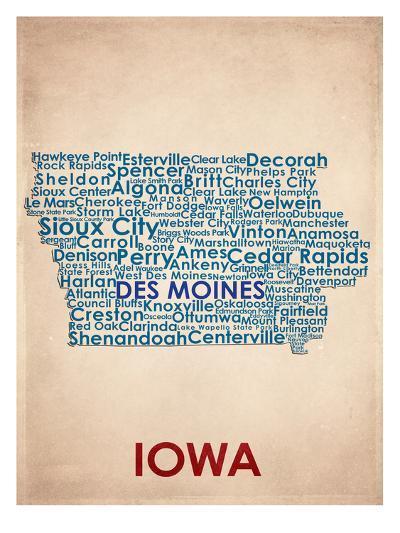 Iowa--Art Print