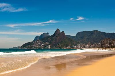 Ipanema Beach on Sunny Summer Day-dabldy-Photographic Print
