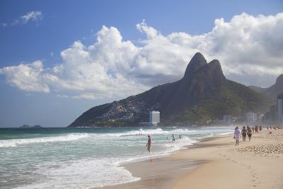 Ipanema Beach, Rio De Janeiro, Brazil, South America-Ian Trower-Photographic Print