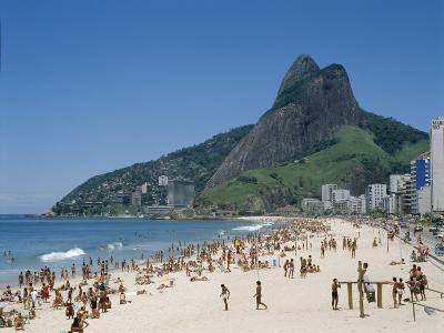 Ipanema Beach, Rio de Janeiro, Brazil--Photographic Print
