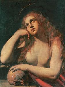 The Penitent Magdalene by Ippolito Borghese
