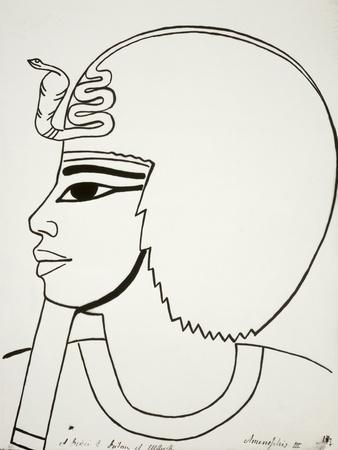Portrait of Amenhotep III