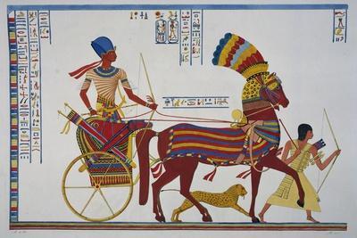 Ramesses II Returning Triumphant Oh His War Chariot