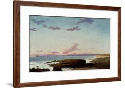 Ipswich Bay, c.1862-Fitz Hugh Lane-Framed Art Print