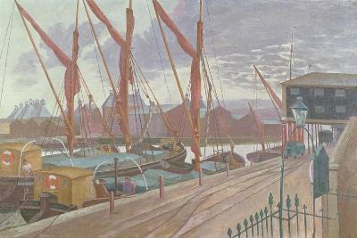 Ipswich Docks-John Northcote Nash-Giclee Print