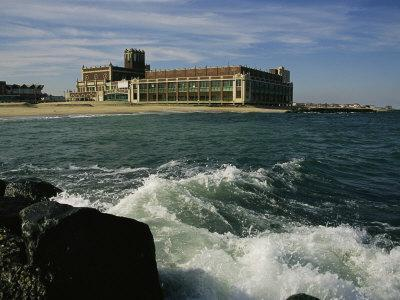 A View of the Seaside Convention Center and Casino in Asbury Park