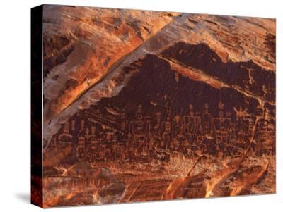 Ancient Pueblo-Anasazi Rock Art Depictions of People