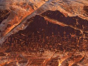 Ancient Pueblo-Anasazi Rock Art Depictions of People by Ira Block