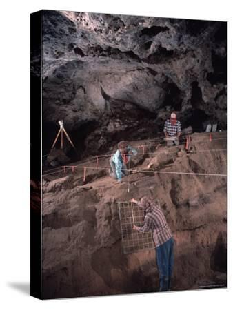 Archeologists Examine Possibly the Earliest Known Human Remains in a Cave